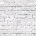 Soft White Bricks wallpaper swatch