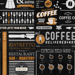 Yo Coffee wallpaper swatch