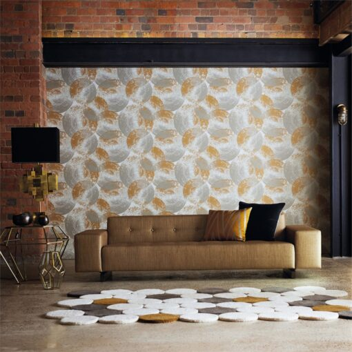 Harlequin Ellipse Jute Clay Anthology 03 Wallpaper photo