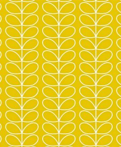 Linear Stem wallpaper by Orla Kiely - Mimosa