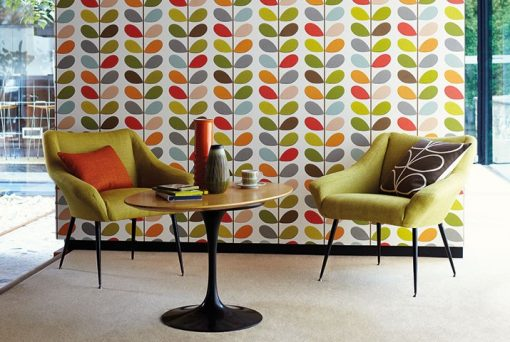 Harlequin Multi Stem Wallpaper