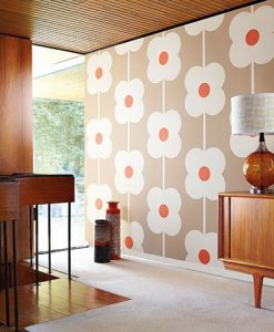 Orla Kiely Wallpaper Archives Silk Interiors Wallpaper Australia