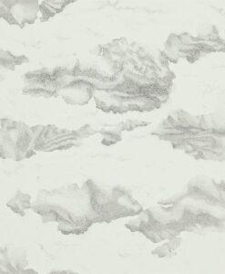 Nuvola wallpaper - Ink / Mica