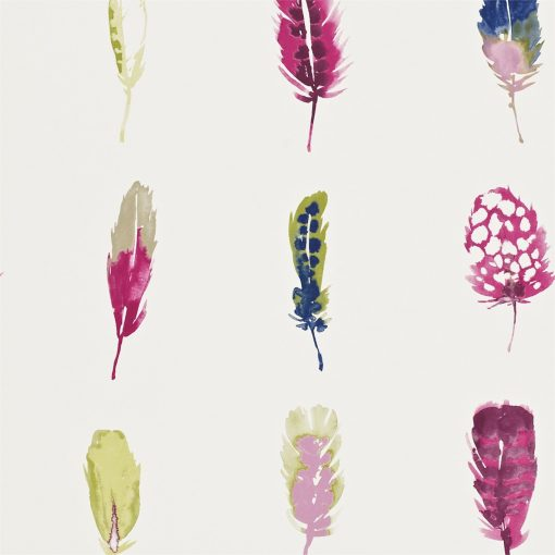 Limosa wallpaper - Loganberry, raspberry and olive