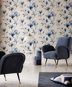 Harlequin Lotus Wallpaper from the Momentum 03 Collection