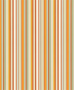 Strata wallpaper in Powder Blue, Tangerine, Spice and Neutral. Part of the Melinki Collection by Scio