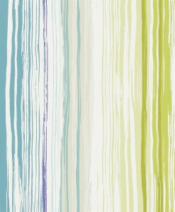 Zing wallpaper by Scion in Moss/Marine/Cement