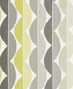 Yoki wallpaper by Scion in Graphite/Zest