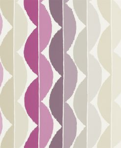 Yoki wallpaper by Scion in Berry/Plum
