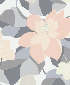 Diva wallpaper by Scion in Pebble/Jasmine