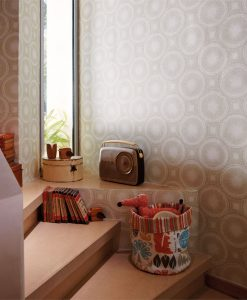 Tree Circles wallpaper from the Melinki Collection by Scion