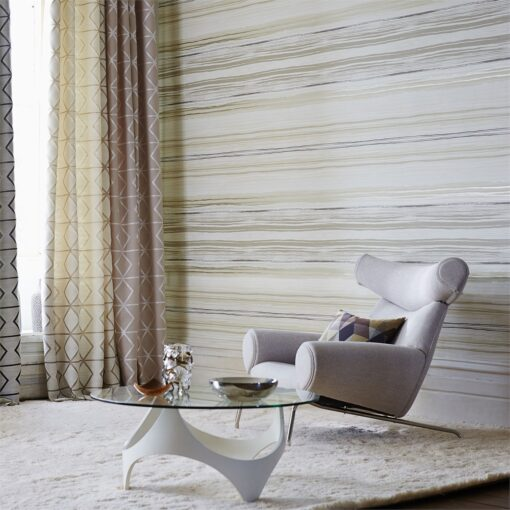 Zing wallpaper by Scion in Pebble/Graphite/Hemp