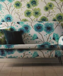 Kabala wallpaper from the Amazilia Collection by Harlequin Wallpaper