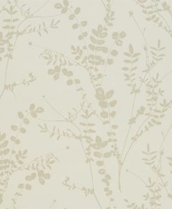 Salvia wallpaper from the Kallianthi Collection by Harlequin, in Ecru and Pebble