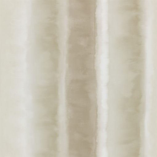 Demeter Stripe wallpaper from the Kallianthi Collection by Harlequin, in Ecru, Putty and Pebble