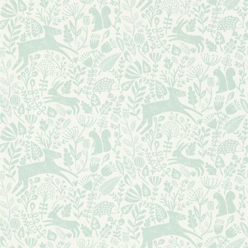 Kalda wallpaper from the Levande Collection by Scion in Marine