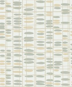 Saldo wallpaper from the Levande Collection by Scion in Mink, Taupe and Putty