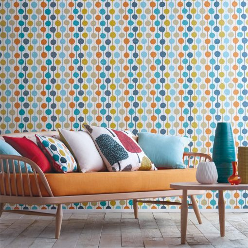 Taimi wallpaper from the Levande Collection by Scion