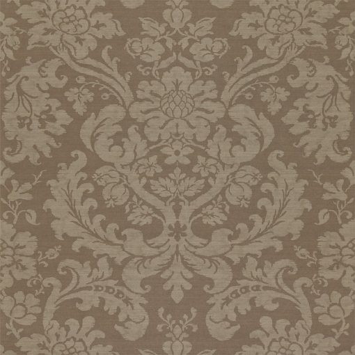 Tours damask wallpaper by Zophany in Fig