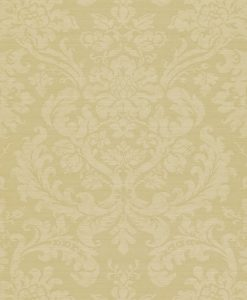 Tours damask wallpaper by Zophany in Silver