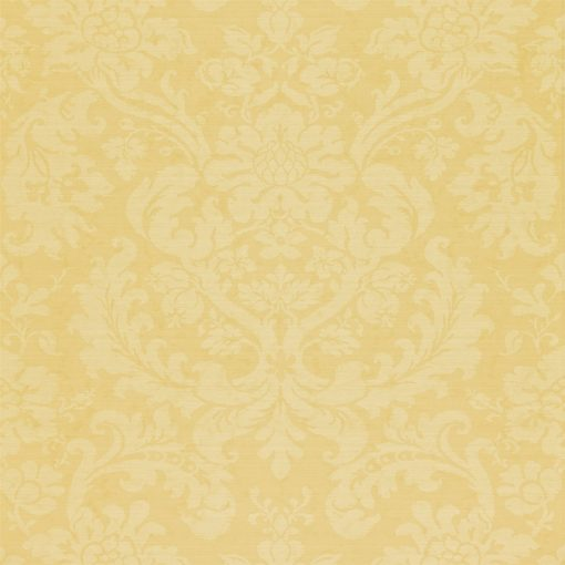 Tours damask wallpaper by Zophany in Cream