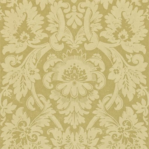 Versailles damask wallpaper by Zophany in Green