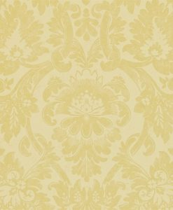 Versailles wallpaper by Zophany in Silk Yellow