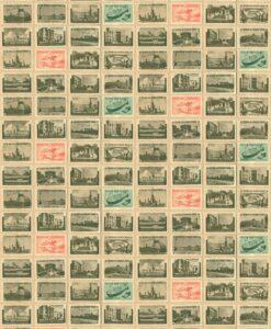 Back in the USSR - Ephemera wallpaper by Linwood