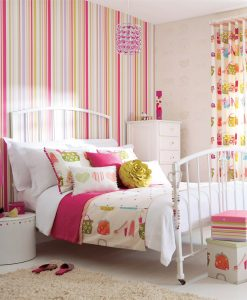 Harlequin Rush Wallpaper from the What a Hoot Collection