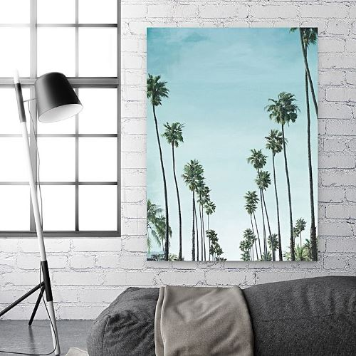 California Palms Canvas Art