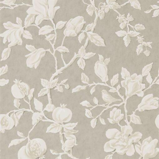 Magnolia and Pomegranate Wallpaper