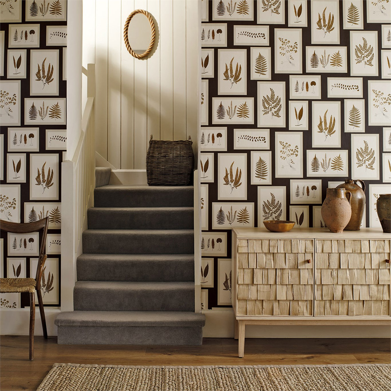 Fern Gallery Wallpaper From The Woodland Walk Collection By Sanderson