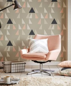 Modul wallpaper from the Lohko Collection by Scion