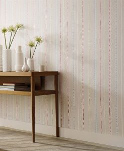Papavera Abacus Stripe Wallpaper
