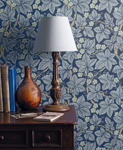 Bramble Wallpaper from the Morris and Co archives