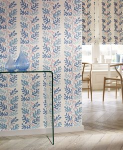 Papavera Malmo Wallpaper in a living space