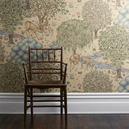The Brook Wallpaper design from the Morris & Co Archive III collection