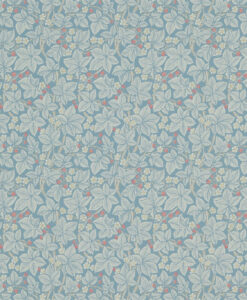 Bramble wallpaper in Pale Blue
