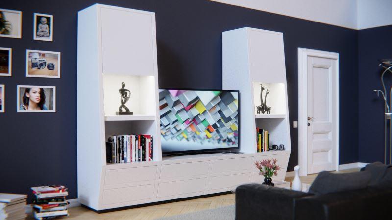 A contemporary living space