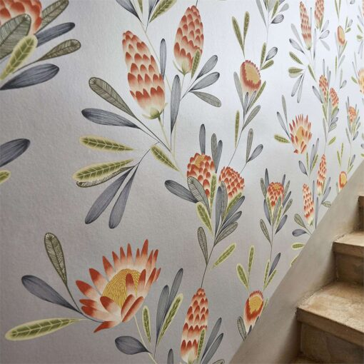 Cayo wallpaper from the Zapara Collection by Harlequin - Close up