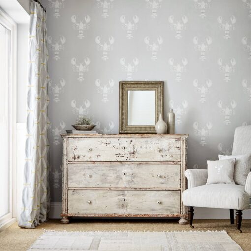 Cromer wallpaper from the Port Isaac Collection by Sanderson