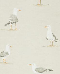 Shore Birds in Driftwood