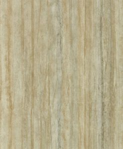 Plica wallpaper in Ochre & Cream