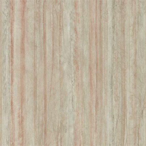 Plica wallpaper on Copper and Blush