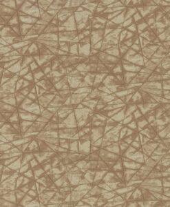 Shatter wallpaper in Copper & Sienna