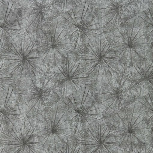 llusion wallpaper from the Anthology 05 Collection in Jet & Zinc