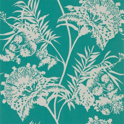 avero Wallpaper in Emerald