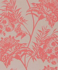 Bavero wallpaper in Coral