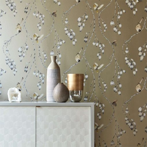 Iyanu Wallpaper from the Zapara Collection Close UP