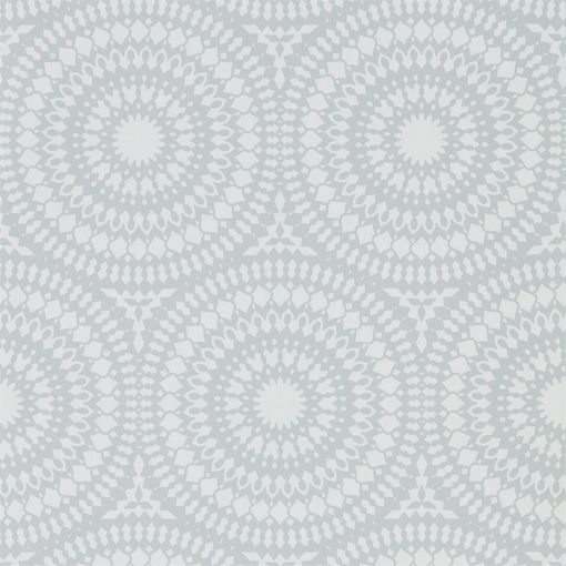Cadencia Wallpaper from the Paloma Collection in Silver